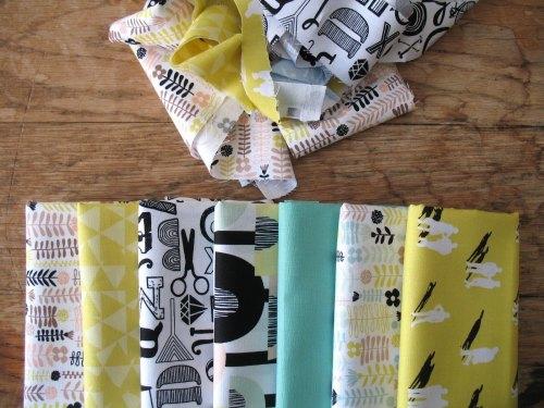 Mini Cloth stack Erin McMorris  urban 'DISTRIKT'