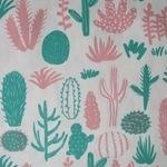 Hokkoh Japan Cacti on light weight canvas