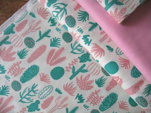 Hokkoh Japan Cacti on light weight canvas