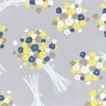 Lecien Iso Ecco luscious bunch of posies COTTON LAWN