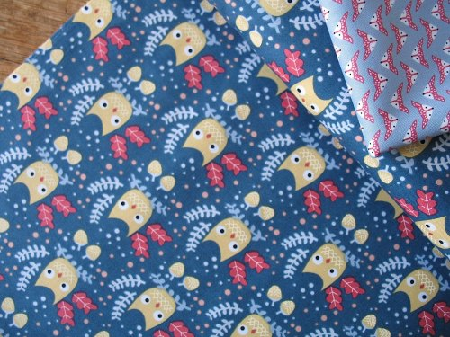 Dear Stella Hiltop owls on navy