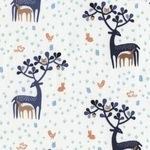 Dear Stella Hilltop deer on white