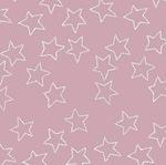 Lotta Jansdotter Stella - star in pink mist