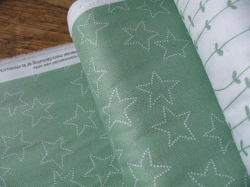 Lotta Jansdotter Stella - star in celadon