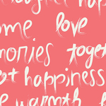 Sew Caroline Art Gallery - Happy Home To Live By Love