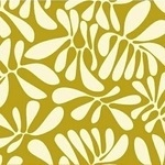 Jan Avellana  A nod to Mod leaf play in gold