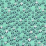 Alexi Abegg paper Bandana -panda bear turquoise