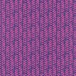 Sarah Watts - Honeymoon palm in purple