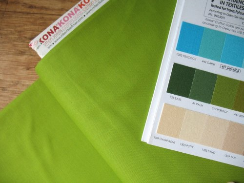 Kona Cottons -LIME