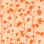 Ink and Spindle cloud 9 organics- kangaroo paw - orange