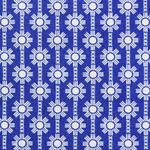 Ellen Luckett Baker Framework daisy chain  in blue
