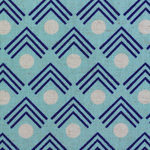 Ellen Luckett Baker Framework corners in blue