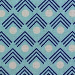Ellen Luckett Baker Framework corners in blue