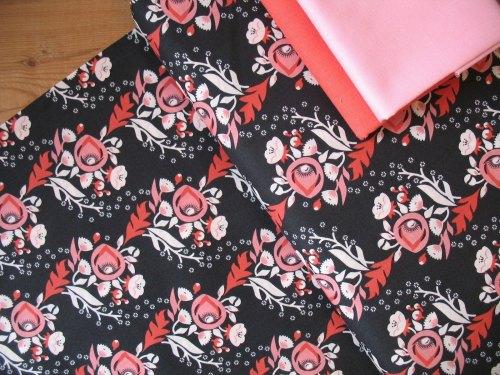 Aneela Hoey Moda Vignette poppy in pink