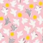 Cloud 9 Organics Glint flock in pink