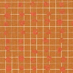 Carolyn Friedlander Carkai grid bits in mustard