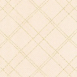 Carolyn Friedlander Carkai grid diamond in ice peach