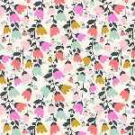 Susan Driscoll  Cotton Candy bell heads in multi coloured