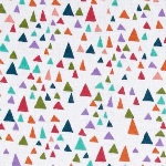 Valori Wells in the bloom - graphic triangles