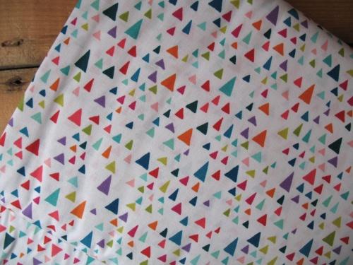 Valori Wells in the bolo - graphic triangles