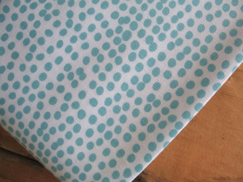Dashwood Studios Flurry teal on white