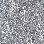 Valori Wells in the bloom leaves in charcoal