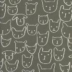 Alexi Abegg Print Shop - hello in grey