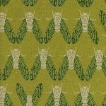 Rashida Coleman- Hale Raindrop bugs  on linen mix
