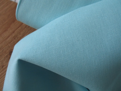 Robert Kaufman Essex LINEN in AQUA