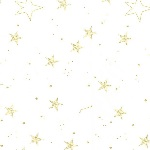 Sarah Jane Designs MAGIC lucky stars  with Metallic