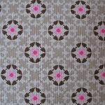 Dutch baby corduroy Wallpaper print on taupe