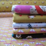 Mini Cloth stack Hedgehog, foxes and friends on an adventure.