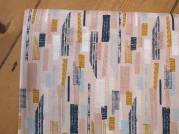 Jillian Philips - Paper Meadow -landslide on pink