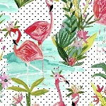 Iza Pearl designs - dress up like a flamingo