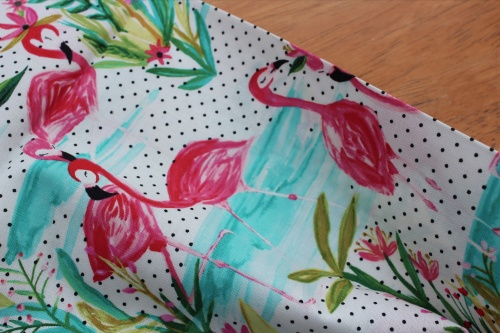 Iza Pearl designs - dress up like a flamingo