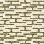 Cloud 9 ORGANIC Holding pattern BARKCLOTH get lost in olive