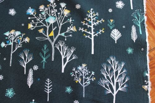 Bethan Janine Norrland tree on navy