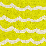 Rashida Coleman - Hale Kujira & Star-waves citron CANVAS weight