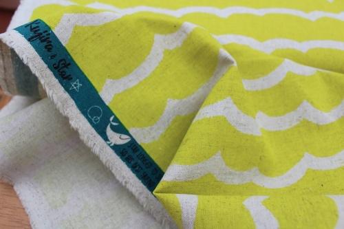 Rashida Coleman - Hale Kujira & Star-waves citron CANVAS weight