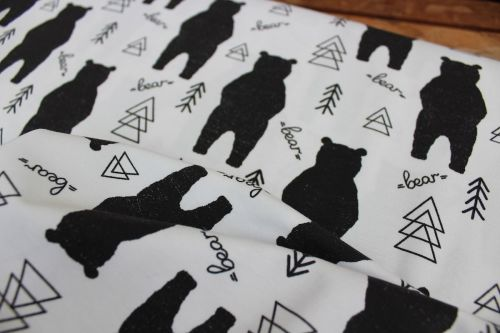 Dutch JERSEY Graphic  bears on white