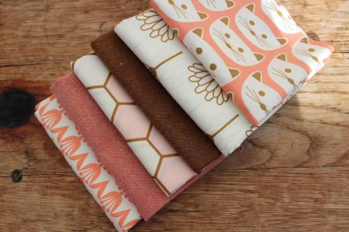 Mini Cloth stack Blush and spice