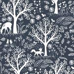 Dear Stella Blue moon folkstone wildlife on blue