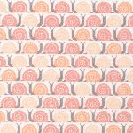 Cloud 9 fabrics Field Day Snails Pace Pink - FLANNEL