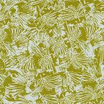 Carolyn Friedlander Gleaned- Lizard border in seafoam
