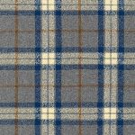 Robert Kaufman Mammoth Flannel - fishermans wool in blue