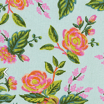Rifle Paper Co.Menagerie jardin de Paris - mint - RAYON