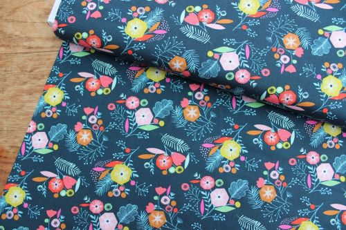 Bethan Janine Flock - graphic floral