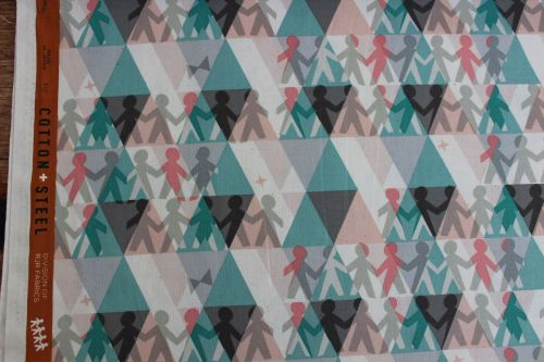 Rashida Coleman- Hale- -Papercuts paper people spearmint