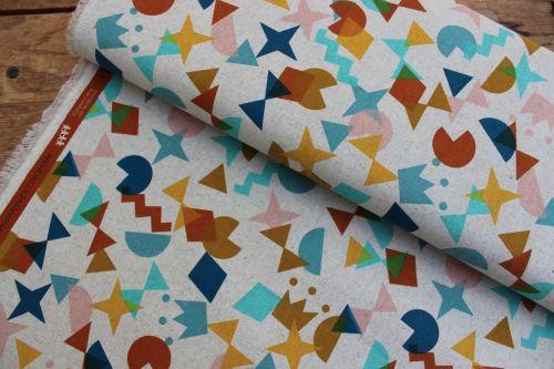 Rashida Coleman- Hale- -Papercuts shape up topaz in canvas weight