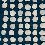 Alexi Abegg Sienna -pebbles in indigo